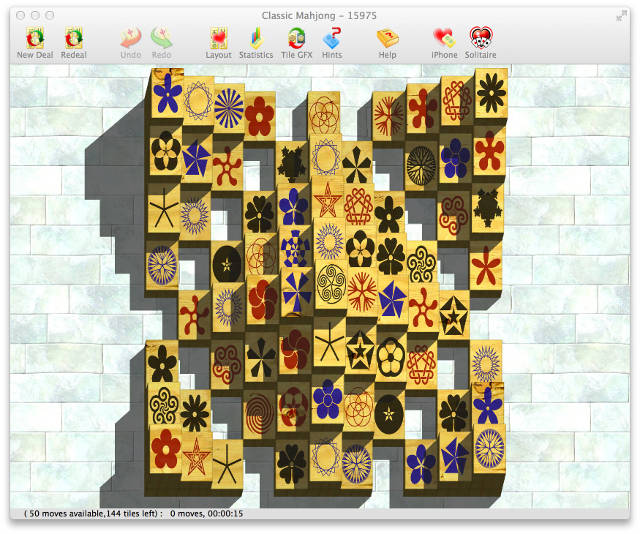 Dogmelon mahjong osx screenshot